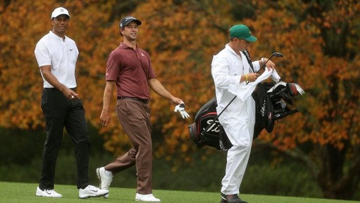 Ecco il Masters dautunno, Tiger Woods resta senza tifosi
