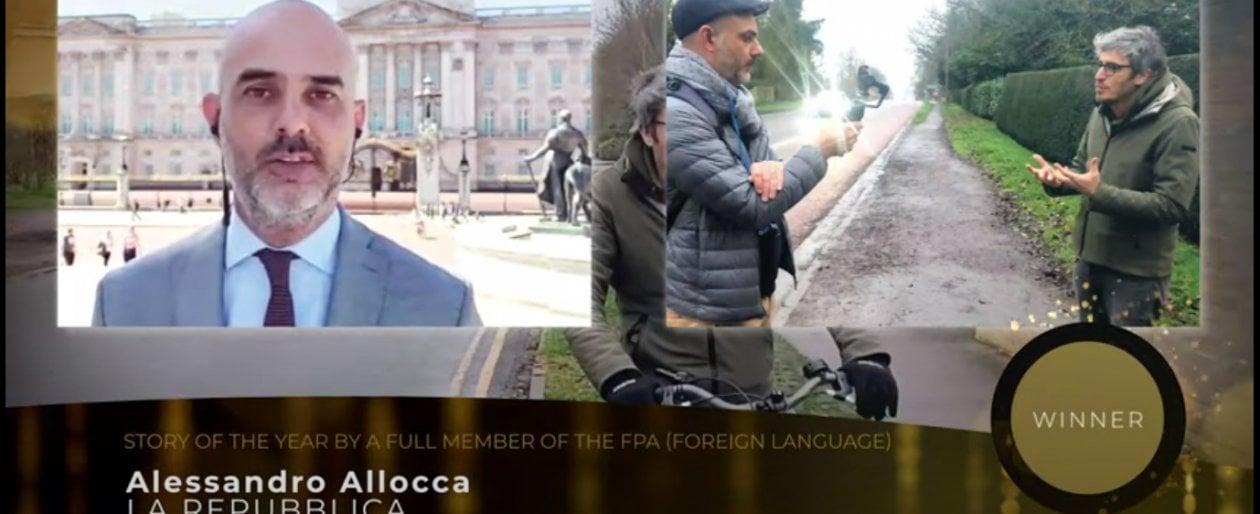 Regeni, premiato il reportage di Repubblica sulla bici di Giulio a Cambridge