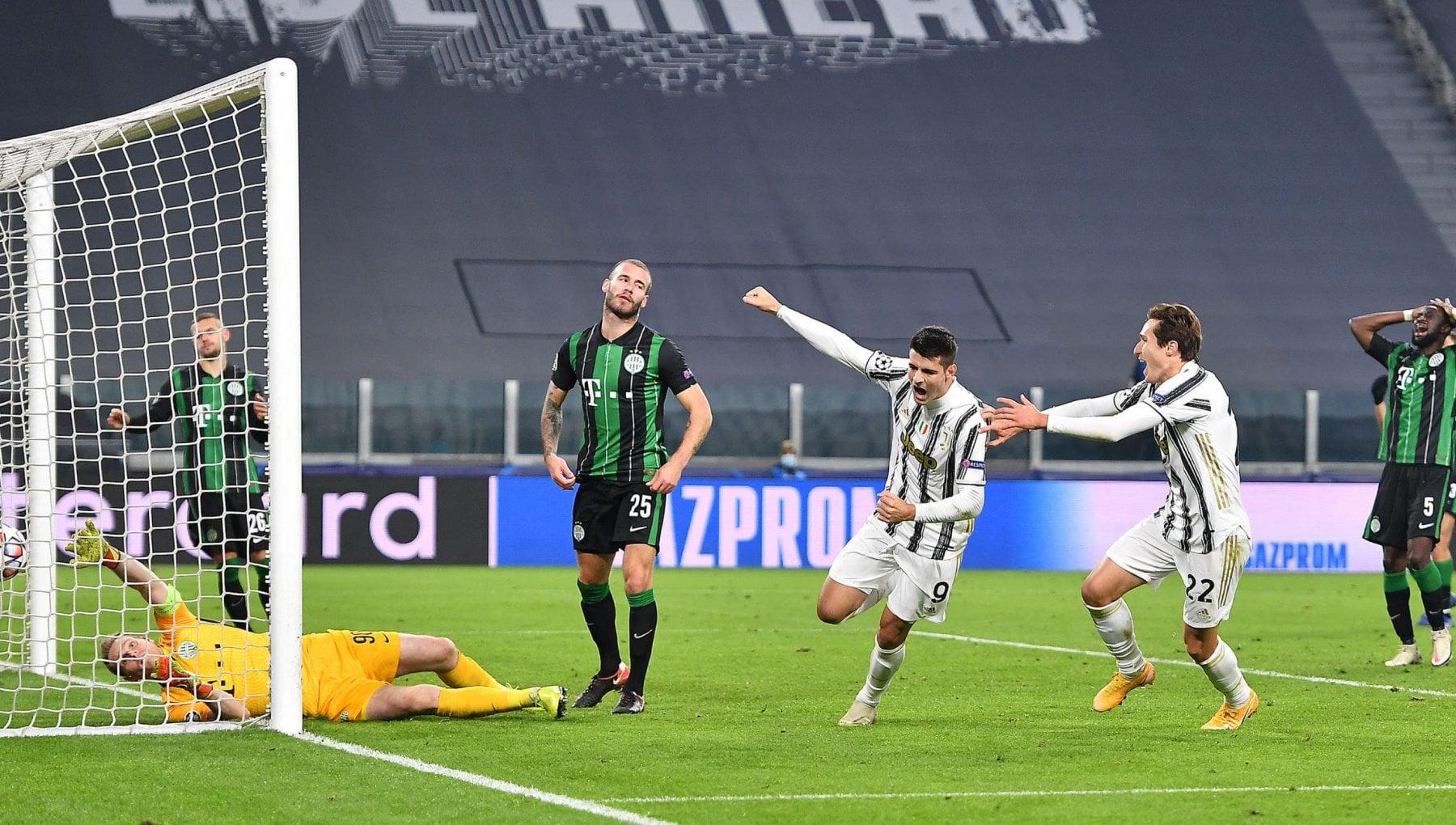 Juventus-Ferencvaros 2-1: Morata al 92' manda i bianconeri agli ottavi |  Calcio-Addict