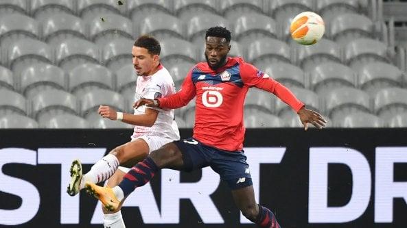 Europa League, Lille-Milan 1-1: Castillejo gol, buon pari per i rossoneri