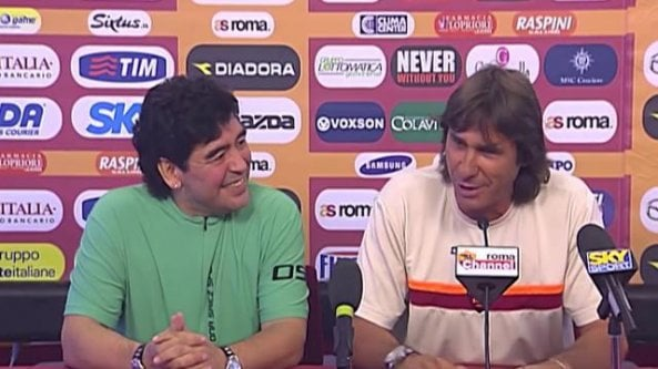 Quando Bruno Conti presentò una giovane promessa: ma era Diego