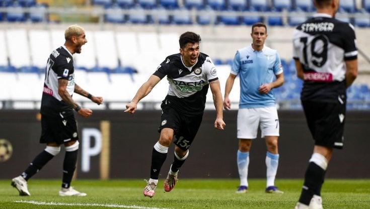 Lazio-Udinese 1-3: colpo dei friulani all'Olimpico - la Repubblica