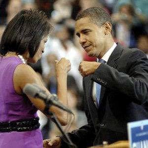 """130316857 ca98fd29 458b 4dd3 a54e 17cdb99f7682 - Michelle Obama: """"La pandemia? Io ho cominciato a lavorare a maglia..."""""""