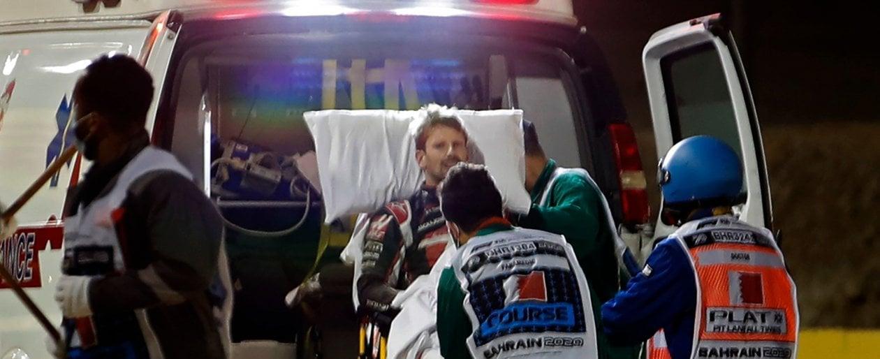 F1, Grosjean dopo la paura: Ho visto la morte in faccia