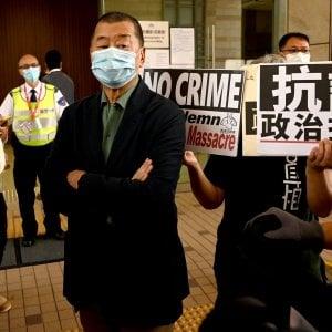 102713887 90096324 2270 43ba 8c15 fb0d8d03e8c9 - Hong Kong, l'editore pro-democrazia Jimmy Lai condannato insieme ad altri sei veterani dell'opposizione