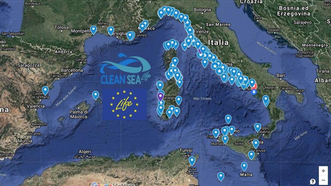 Mare Mediterraneo Cartina.Plastica In Mare Milioni Di Dischetti Dispersi Nel Mediterraneo In Otto A Processo Per Disastro Ambientale La Repubblica