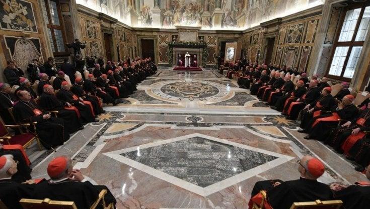 Papa Francesco Tempi Bui Qui Non C è Mandrake Ma Nessuno Deve Perdere Il Lavoro La Repubblica