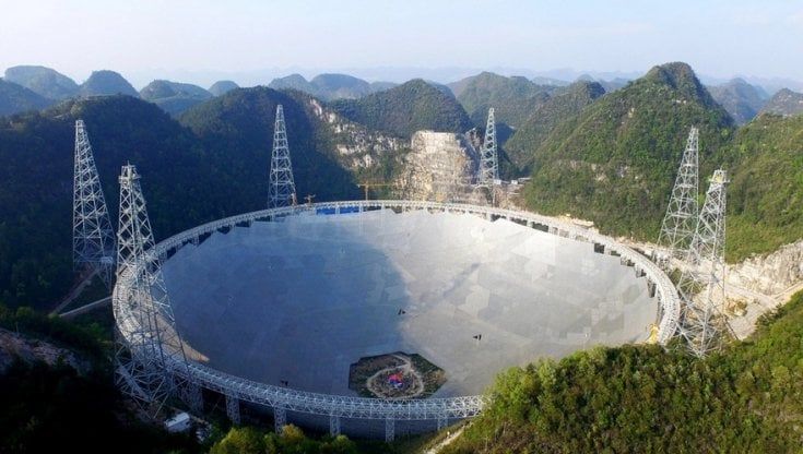 Cina: il mega radiotelescopio Fast apre agli scienziati stranieri