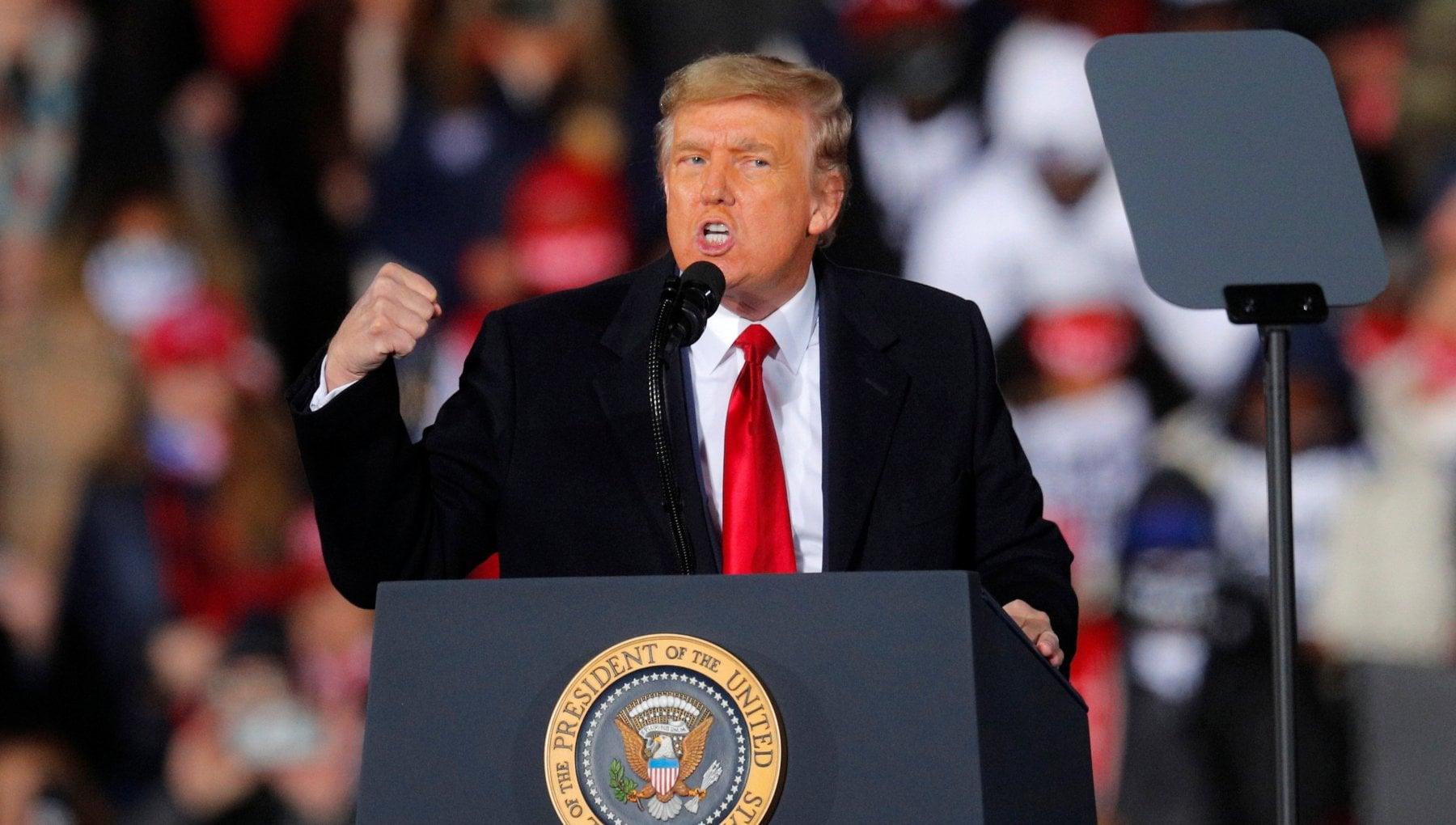 """044531255 84e762fd 0979 4dba 8fbe b2ad618fca39 - Trump: """"Hanno truccato l'elezione presidenziale. Georgia ultima linea difesa per salvare l'America"""""""