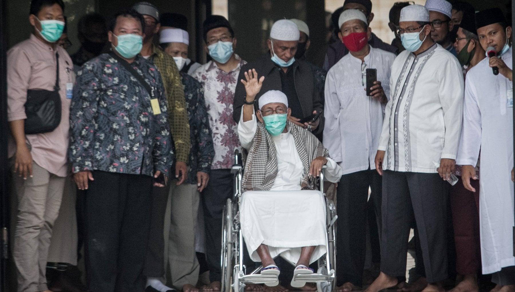 094843773 bc7f5dad 8af0 416e 939b 804a0909f974 - Indonesia, scarcerato l'emiro Abu Bakar Bashir, mente della strage di Bali