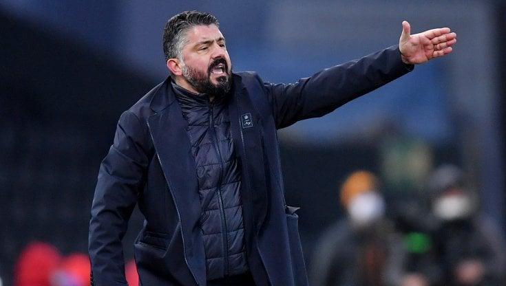 """Napoli, Gattuso: """"Squadra viva, ma non siamo ancora pronti per certe  ambizioni"""" - la Repubblica"""
