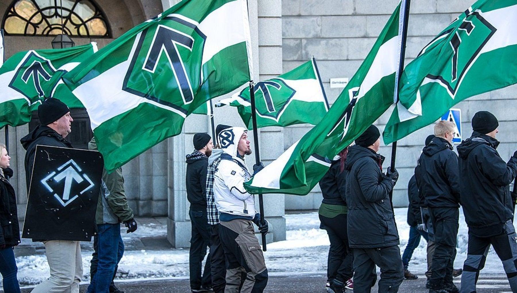 L'internazionale neonazista contro il vaccino anti-Covid