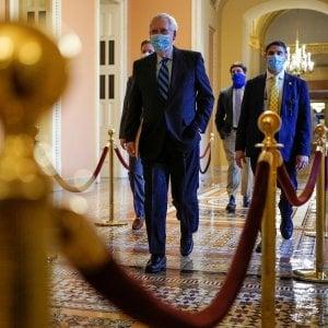 """172810250 14c139ce d212 4757 9817 9d098c205cc0 - Usa, i democratici presentano la richiesta di impeachment per Trump. Pelosi: """"Abbiamo i numeri"""". Biden: """"Se ne deve andare"""""""