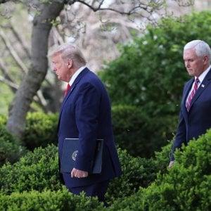 """013626356 2b0c3e3d 30ca 4964 84d4 07659281856f - Trump: """"La procedura di impeachment contro di me è ridicola"""""""