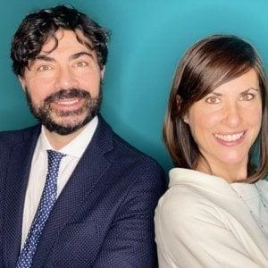 Armando Cecatiello e Laura Veneroni