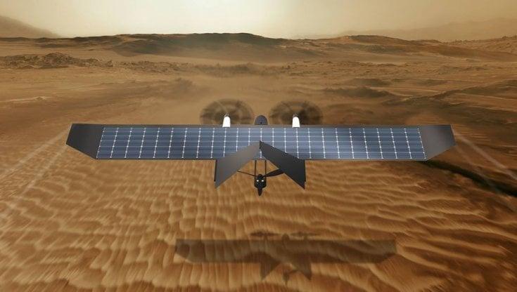 Un drone solare italiano per missioni su Marte