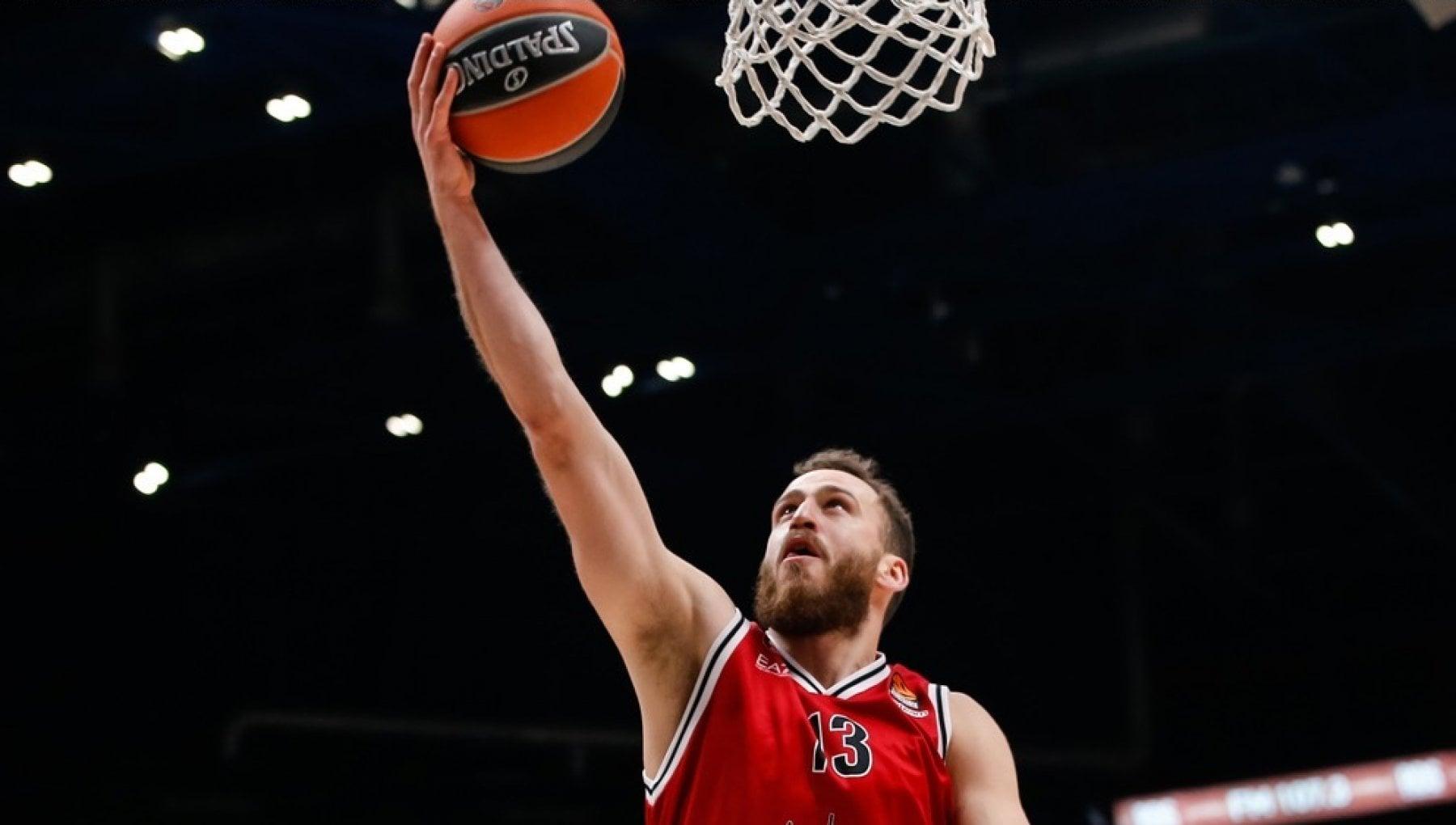 Basket, Eurolega: l'Olimpia Milano asfalta il Bayern, quarto successo di fila