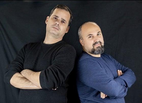 Da sinistra, Jacopo Pezzan e Giacomo Brunoro,co-fondatori di La Case Books