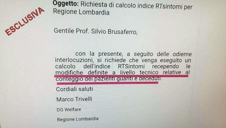 """Zona rossa per errore, è caccia al colpevole. Le mail della Lombardia: """"I dati sono cambiati adesso ricalcolate l'Rt"""""""