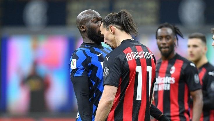 Coppa Italia, Inter-Milan 2-1: Ibrahimovic segna e si fa espellere ...