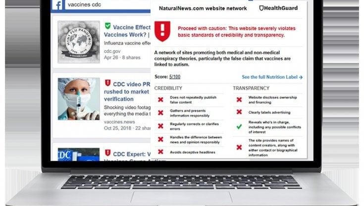 VaxFacts, un tool per scovare le fake-news sul covid