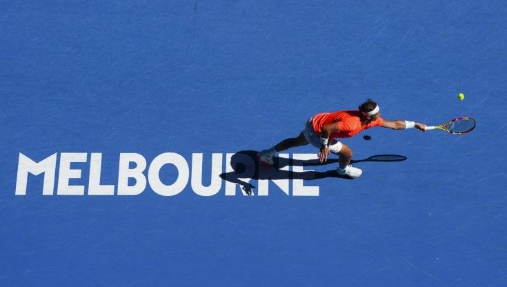 Tennis, Australian Open: Berrettini, Fognini, Sonego e Caruso ok, Nadal senza problemi