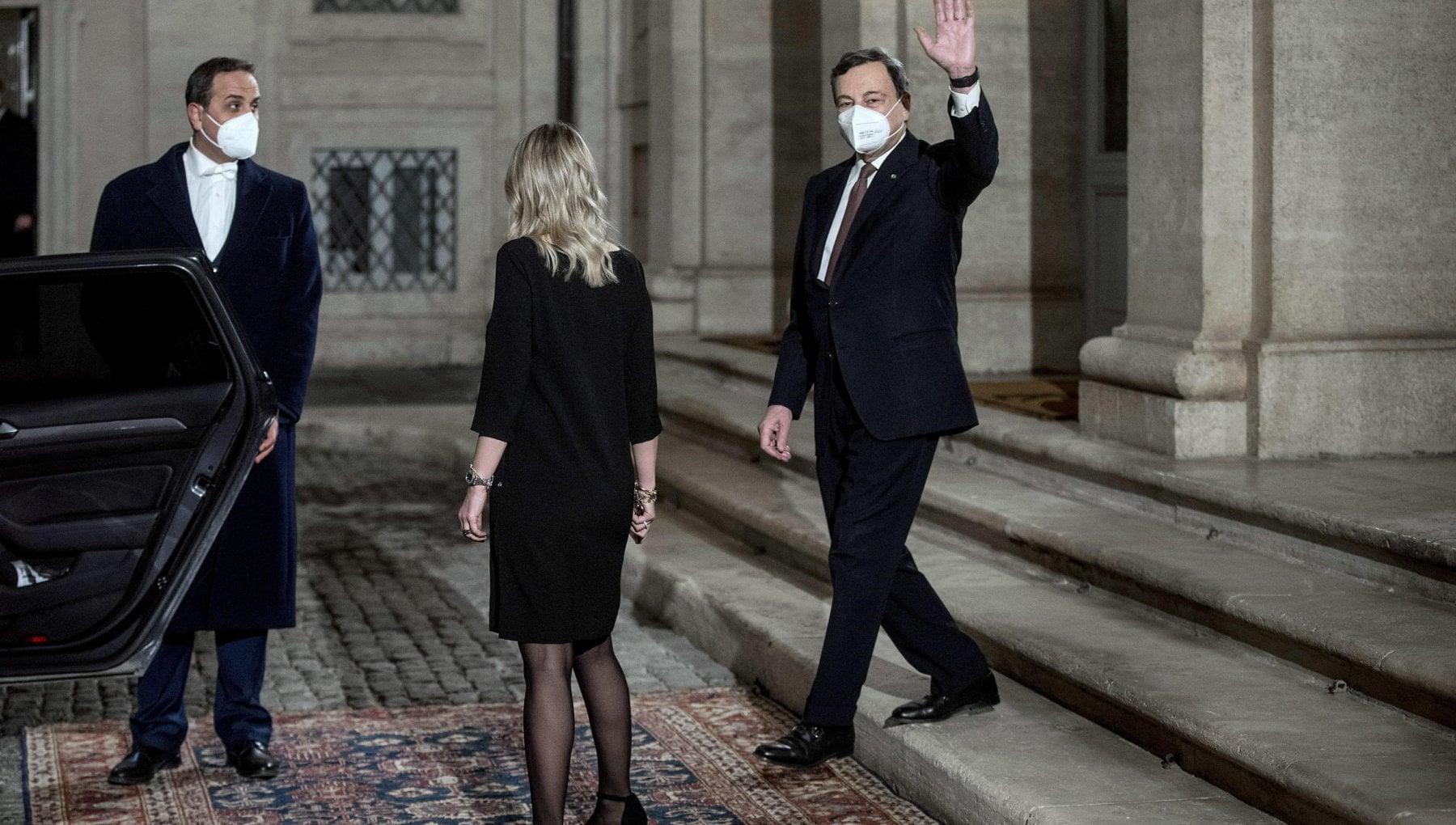 Governo, Draghi scioglie la riserva e annuncia i ministri:  Franco all'Economia, Cingolani alla Transizione ecologica, Cartabia alla Giustizia