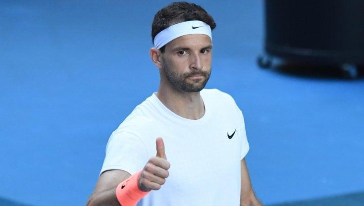 Tennis, Australian Open: Dimitrov sgambetta Thiem, Djokovic fa 300 negli Slam