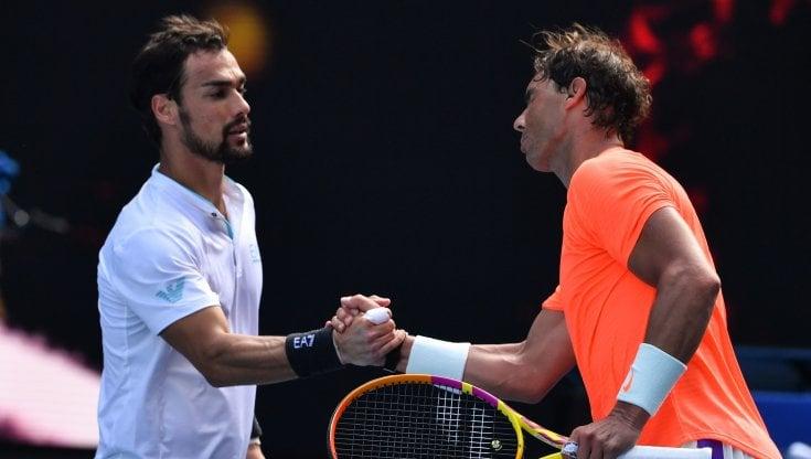 Tennis, Australian Open: Berrettini si ritira, Fognini ko con Nadal negli ottavi