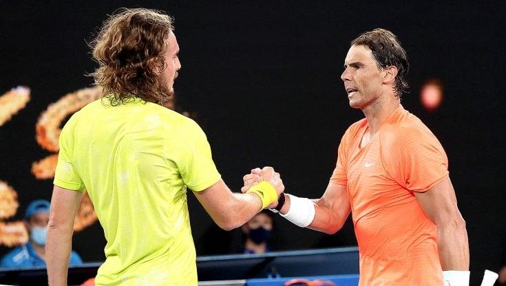 Tennis, Australian Open: Tsitsipas elimina Nadal, anche Medvedev in semifinale