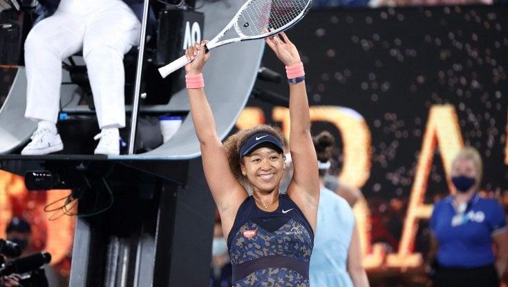 Tennis: Naomi Osaka regina degli Australian Open, Brady dominata in finale