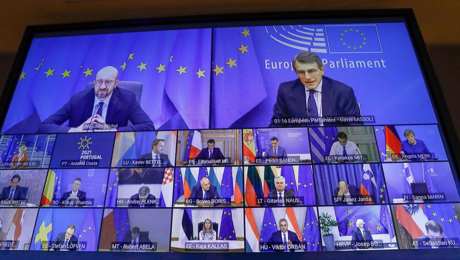 """Covid, Draghi al vertice Ue: """"Sui vaccini occorre accelerare"""""""