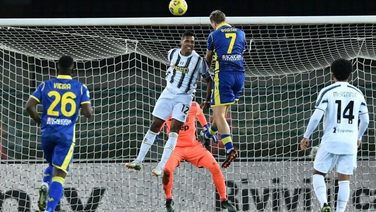 Verona-Juventus 1-1: non basta Ronaldo, Barak ferma la rincorsa dei  bianconeri - la Repubblica