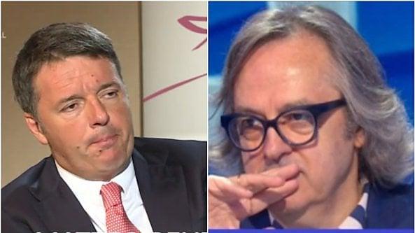 Renzi come Marzullo: si intervista da solo e scatena lironia su Twitter