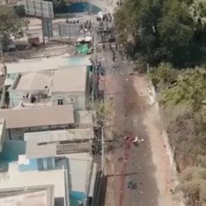 153244427 0483a01a 8598 41db 83cf b390b7c46d10 - Myanmar, i militari attaccano un ospedale. La guerriglia etnica in campo contro i golpisti