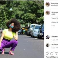 Simone Williams, l'orgoglio dei capelli afro da Guinness