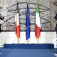 """Italia e Francia: """"Sulla Libia siamo più vicini"""""""