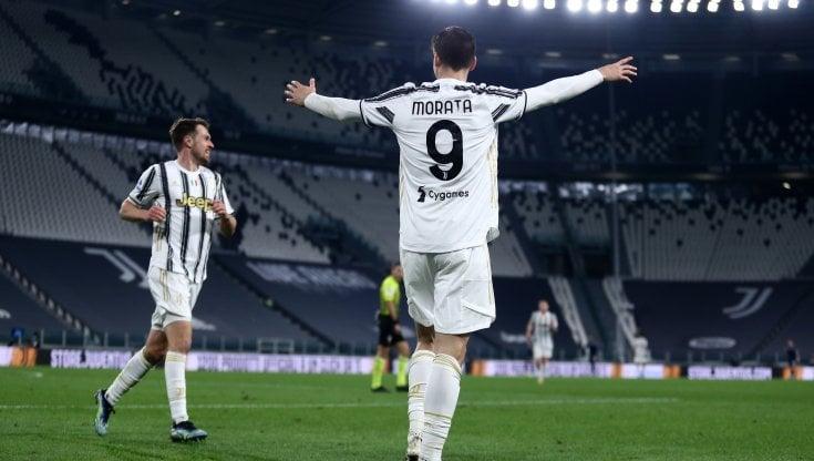 Juventus-Lazio 3-1, Rabiot e Morata ribaltano i biancocelesti - la  Repubblica
