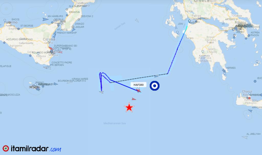 145007057 52329f59 64a9 4b1b a7ea 157b68215243 - Navi e aerei della Nato all'inseguimento del sottomarino di Mosca nel Canale di Sicilia