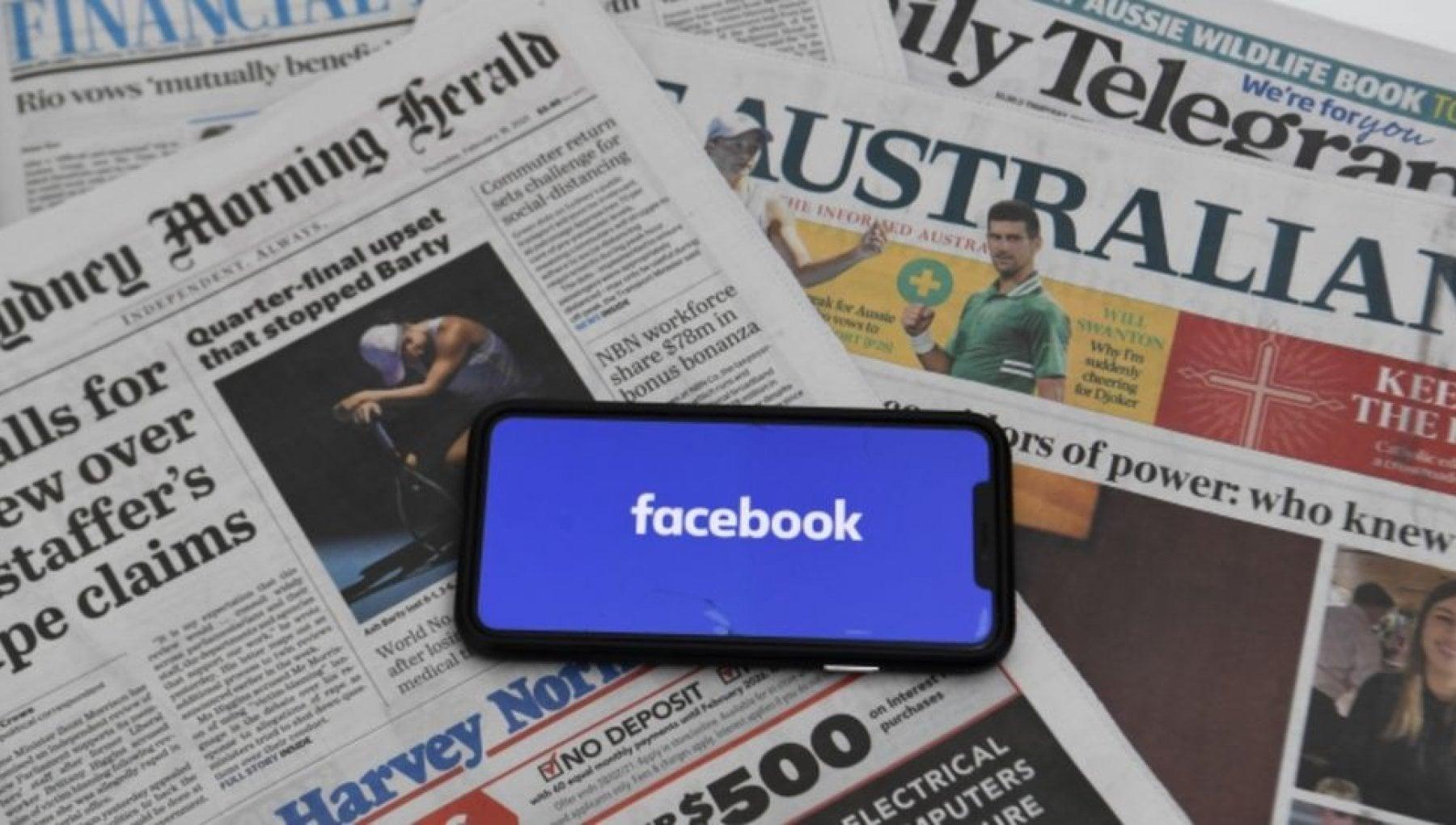 023521887 16db36f4 8273 4ddb 8484 c8a36ac14b93 - Australia: accordo tra Facebook e la News Corp di Murdoch per la diffusione di notizie sul social