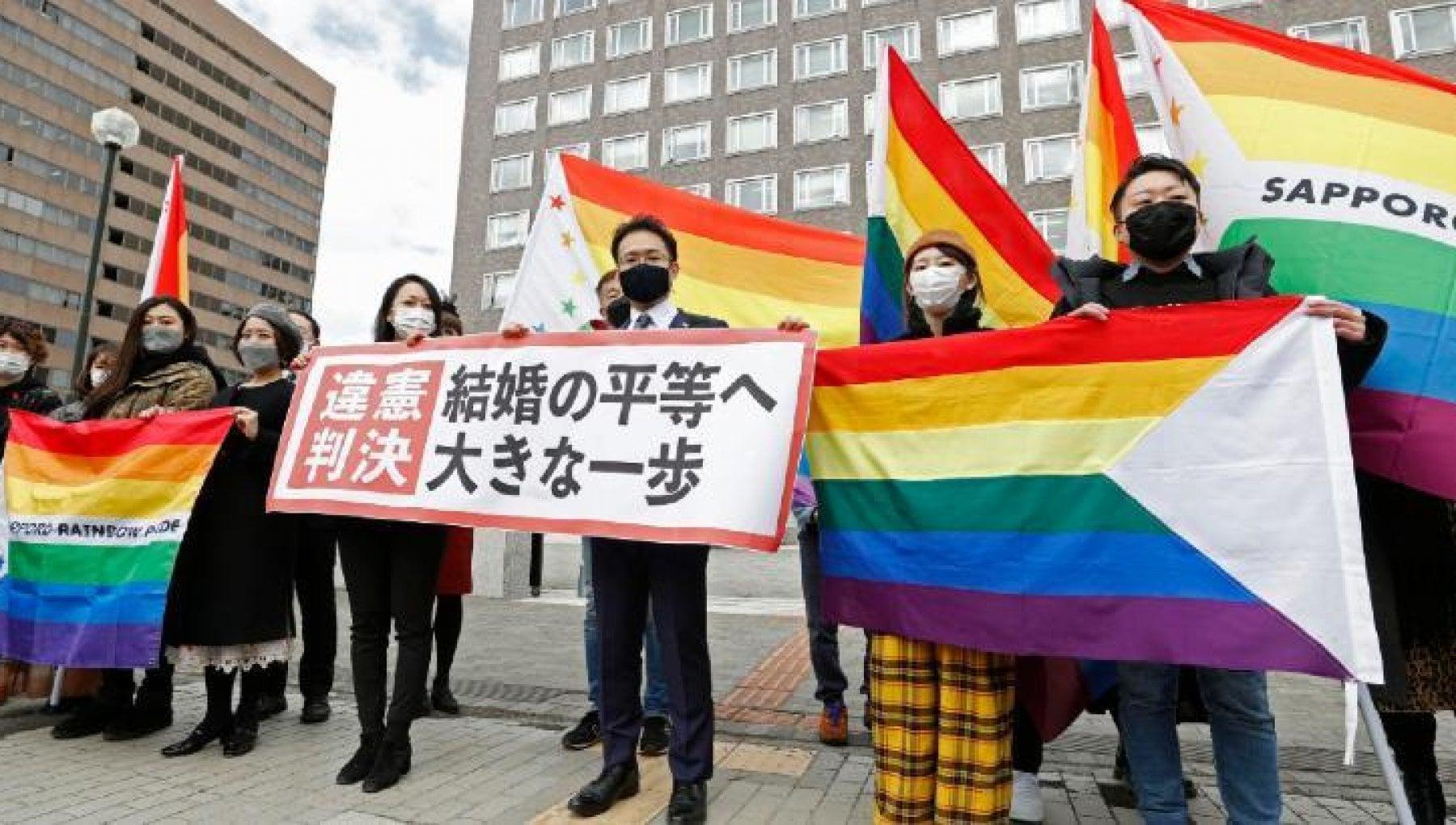 """103924425 66e7fce3 0f57 426b 8b1d 58632c30930a - Sentenza storica in Giappone: """"Il divieto di nozze gay è anticostituzionale"""""""