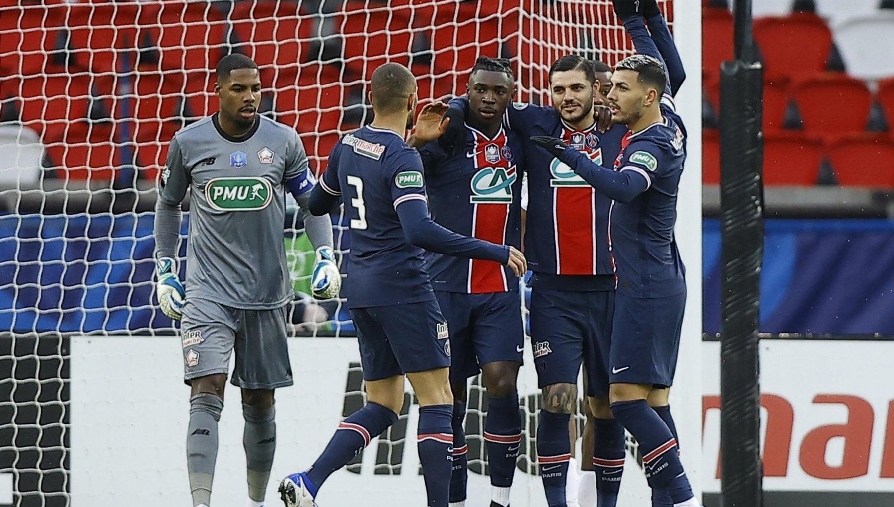 Coppa di Francia, Psg ai quarti: 3-0 al Lille. I club di Ligue1 e ...