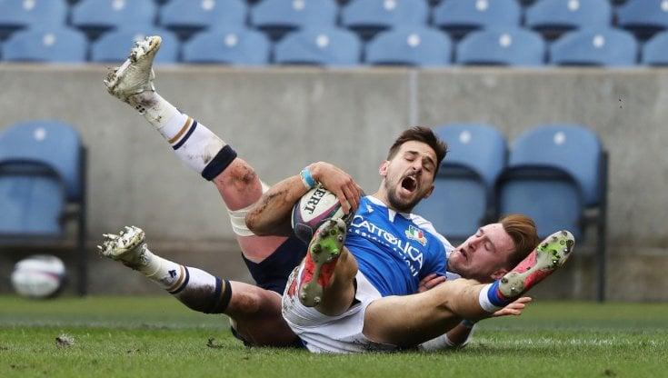 Rugby, Sei Nazioni: lItalia cade anche in Scozia, 32° ko consecutivo