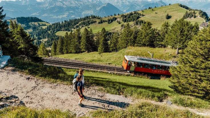 The Rigi Railway was opened 150 years ago, the first mountain railway in Europe thumbnail