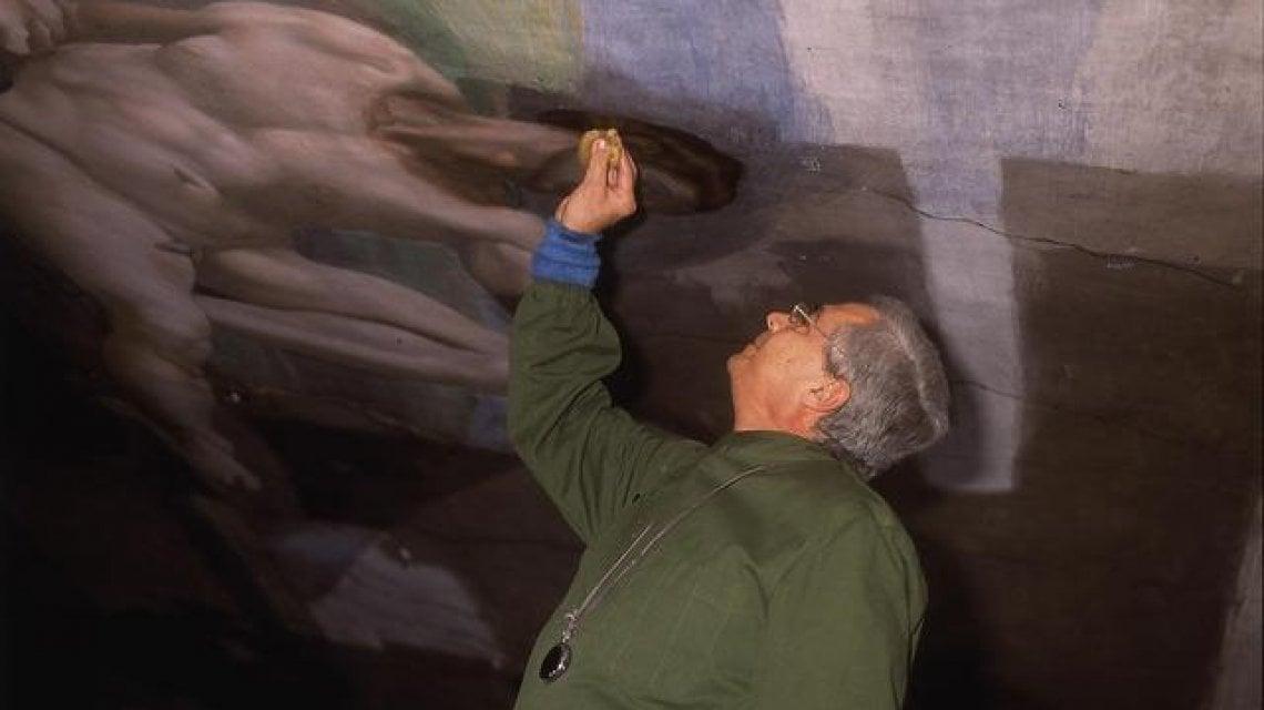 200747292 e5bb09aa 1a7e 4530 b603 da42abb39444 - Addio a Colalucci, il restauratore che svelò i colori di Michelangelo nella Sistina