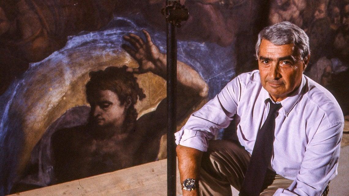 200829900 81ad672a daa5 4cac b8a8 17394bee0ebc - Addio a Colalucci, il restauratore che svelò i colori di Michelangelo nella Sistina