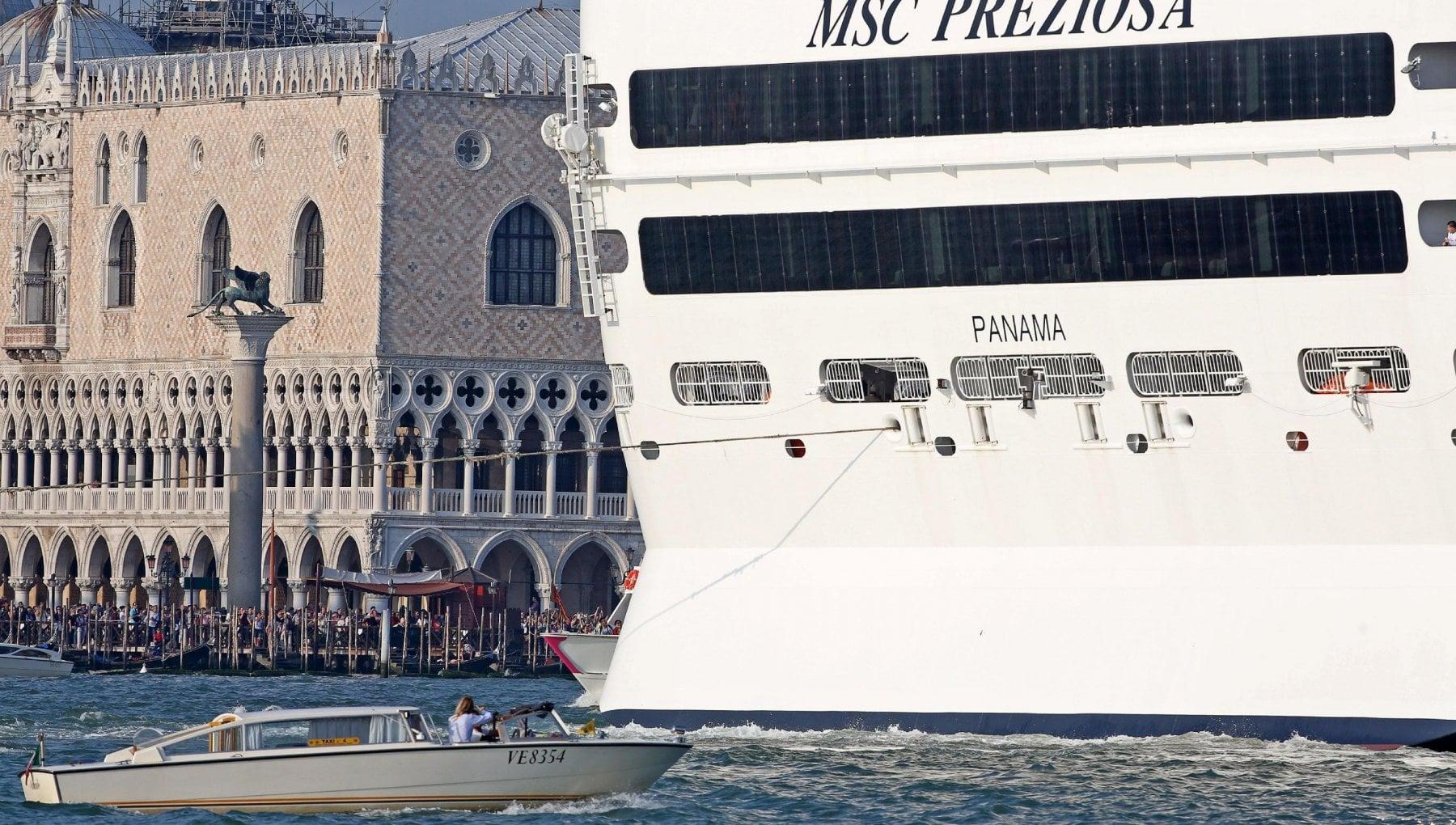 """210537835 bcb316c3 e0ff 4d7f a827 5820e89058ec - Venezia, il decreto del Consiglio dei ministri: """"Via le grandi navi dalla laguna"""""""