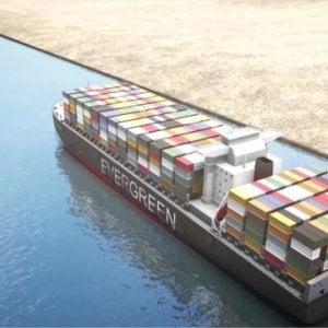 114429953 a2bf5b0a 886d 4fc6 afbb 37df16ebdd8d - Suez, l'ingorgo è finito. Tutte le navi bloccate hanno passato il canale