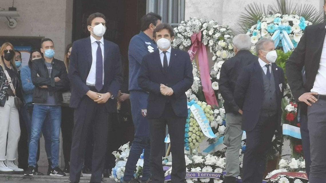 Lotito e Cairo uniti nel dolore: l'ultimo saluto a Daniel Guerini