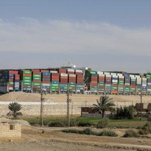 115931556 1093bf61 57e4 4b20 97a7 8acc2fc8d0e5 - Egitto, la nave Ever Given lascia il Canale di Suez e fa rotta verso Amsterdam